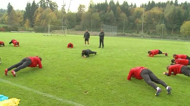 Neustart beim FCA mit Trainer Marco Schällibaum
