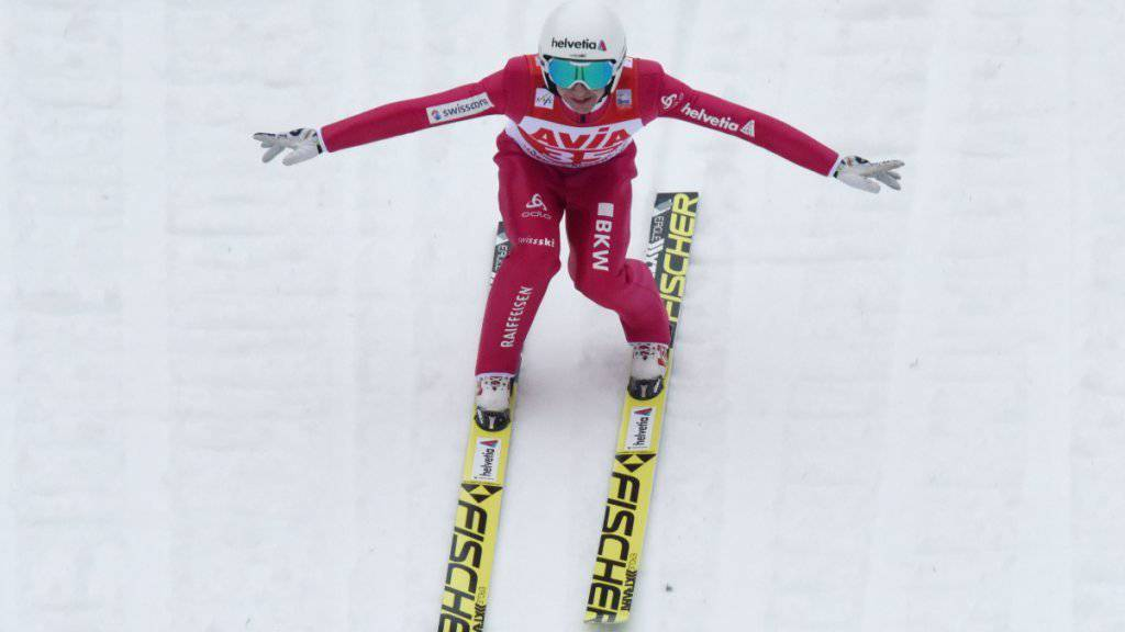 Seltenes Missgeschick von Simon Ammann: Fünfter der Schweizer Meisterschaft