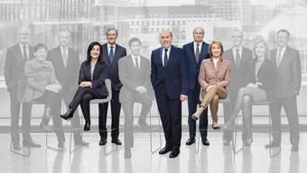Die fünf Mitglieder des Nominationsausschusses der UBS, der bei der Suche und Überprüfung des neuen Konzernchefs die Federführung hatte: Isabelle Romy, David Sidwell, Axel Weber (Präsident), Jeremy Anderson und Julie G. Richardson.