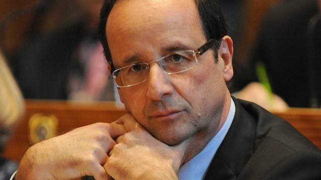 Liegt nach einer Umfrage vorn: François Hollande (Archiv)