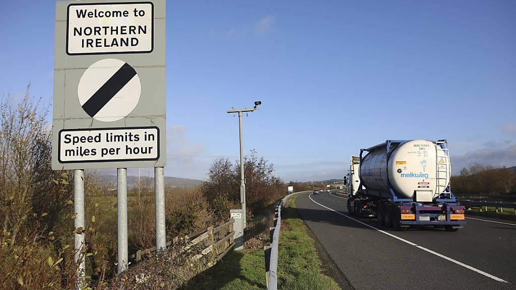 Irland mahnt Brüssel und London zu gemeinsamer Lösung für Nordirland