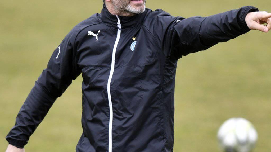Erst vor drei Wochen präsentierte die alte GC-Führung mit Trainer Tomislav Stipic bereits einen in der Schweiz weitgehend Unbekannten