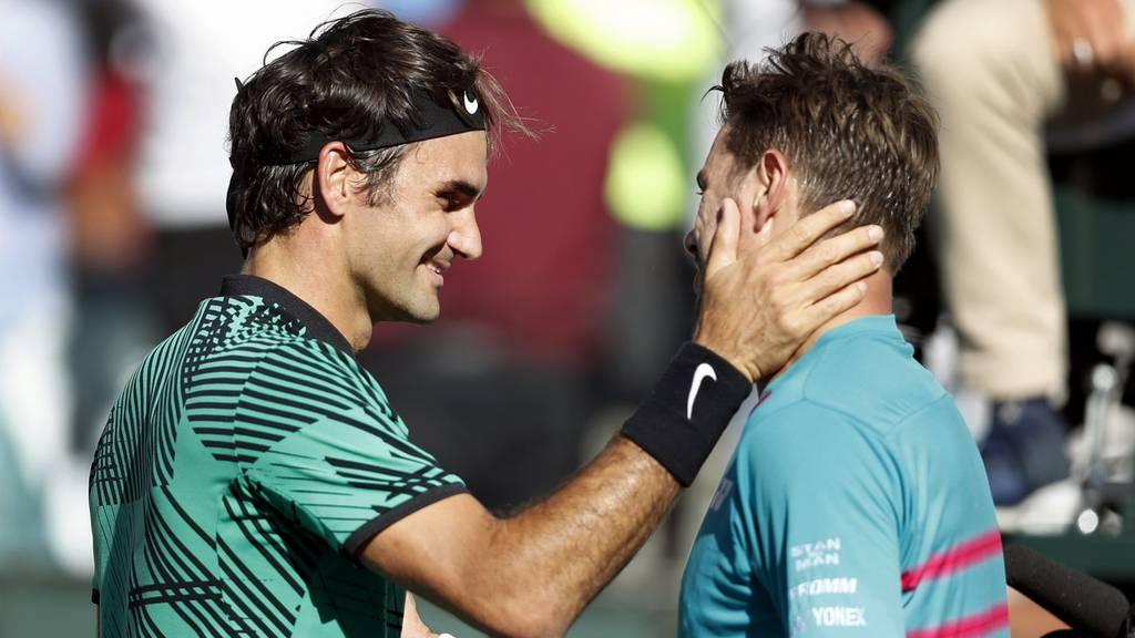 Schweizer Final: Federer schlägt Wawrinka
