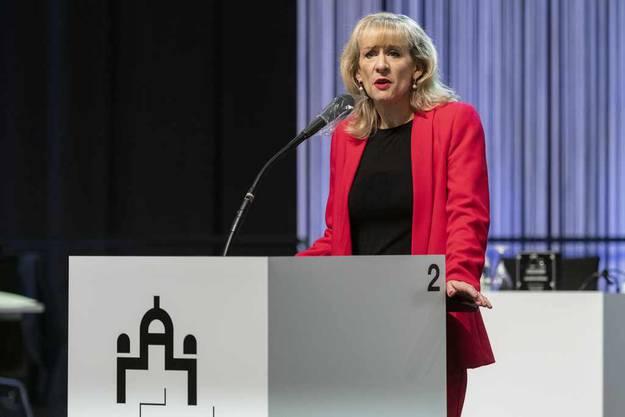 Brigadier Droz war gestern: SP-Nationalrätin Priska Seiler Graf wirbt für den Zivildienst.