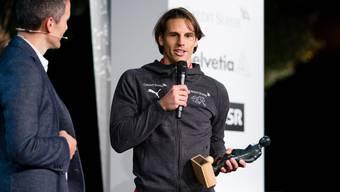 Yann Sommer nimmt am Montagabend die Auszeichnung entgegen.