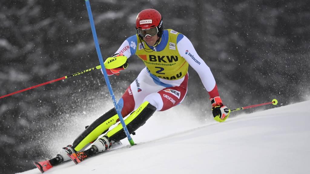 Wie gut schlagen sich die Männer heute im zweiten Slalom?