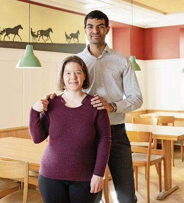 Schöftland, 25. Februar: Patricia und Danilo Senn empfangen im Restaurant zum Ochsen in Schöftland ab März ihre Gäste.