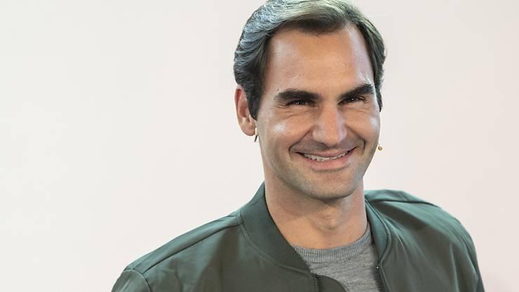 Mit viel Zuversicht ins letzte Turnier des Jahres: Roger Federer