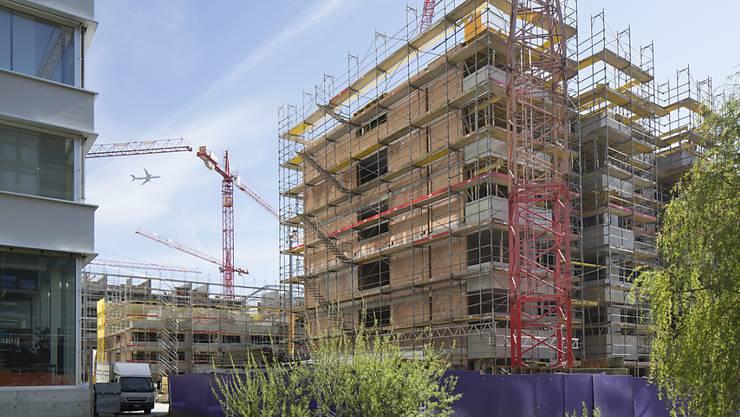 865 Neubauwohnungen in Basel-Stadt im Jahr 2019. (Symbolbild)