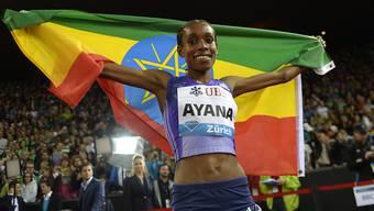 Almaz Ayana aus Äthiopien stellte zum Auftakt der Leichtathletik-Wettbewerbe an den Sommerspielen einen Fabel-Weltrekord auf