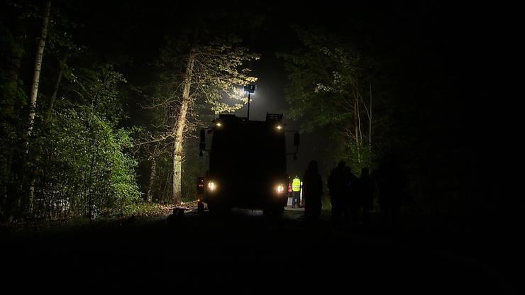 Bei einem Selbstunfall in Rheinfelden kommen fünf Menschen ums Leben