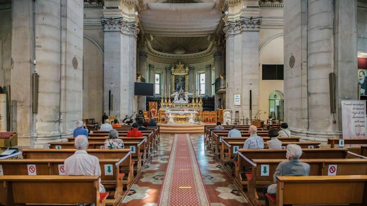 In der Chiesa Santa Maria in Porto wird wunderbar musiziert.