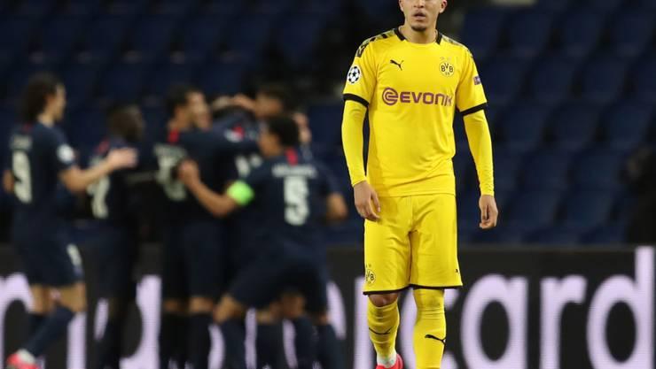 Kann die gegen ihn und BVB-Teamkollege Manuel Akanji verhängten Sanktionen von der DFL nicht verstehen: Jadon Sancho