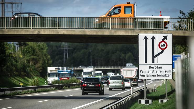 Ein dringliches, aber nicht unumstrittenes Anliegen aus Aargauer Sicht ist der Ausbau der A1.