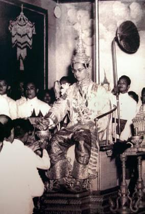 5. Mai 1950: Die Krönungsfeier von Bhumibol.