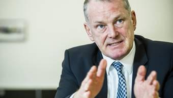 Der Aargauer Energieminister Stephan Attiger beurteilt die Lage der Wasserkraft dramatisch.