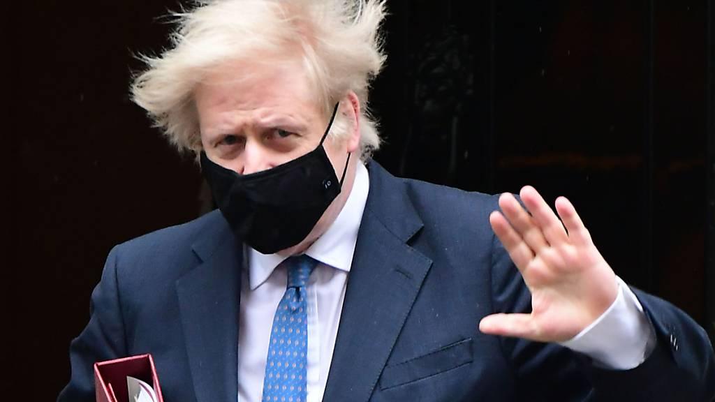 Boris Johnson, Premierminister von Großbritannien. Foto: Ian West/PA Wire/dpa
