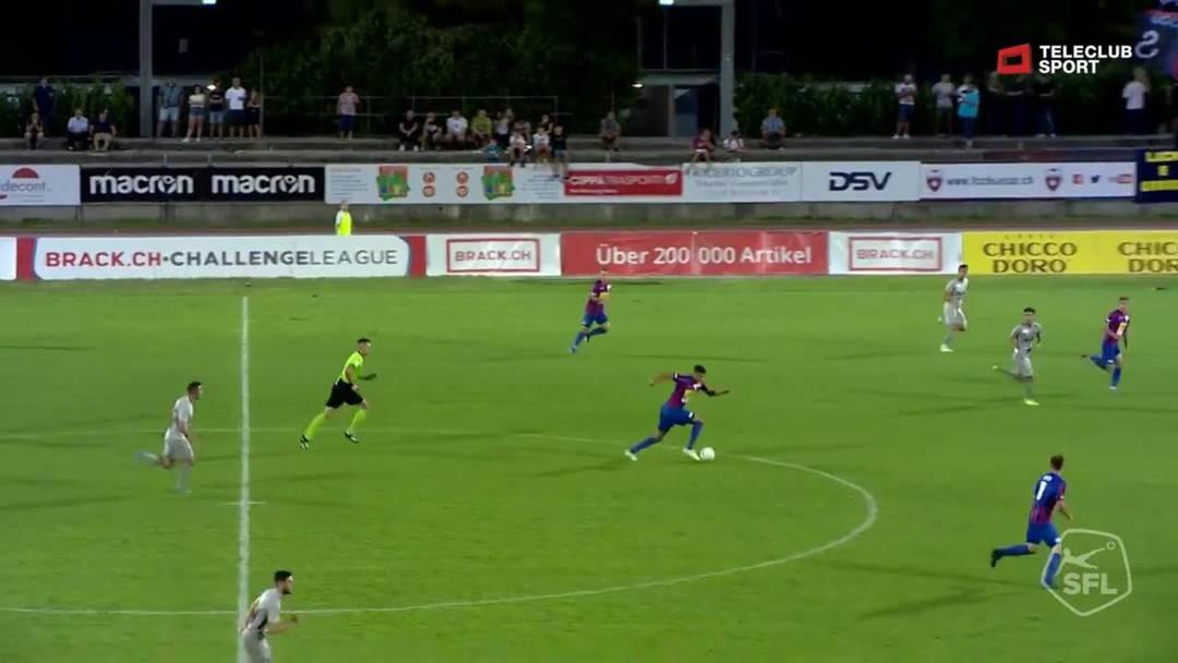 57. Minute: Bahloul mit seinem zweiten Treffer der Partie