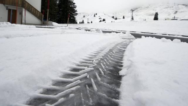 In Skigebiet Adelboden kehrt der Winter ein