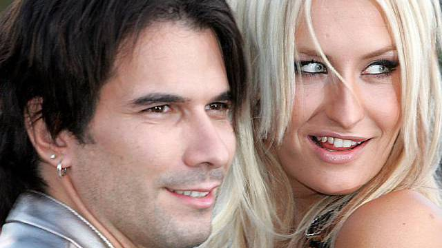 Ein Bild aus besseren Tagen: Connor und Terenzi (Archiv)