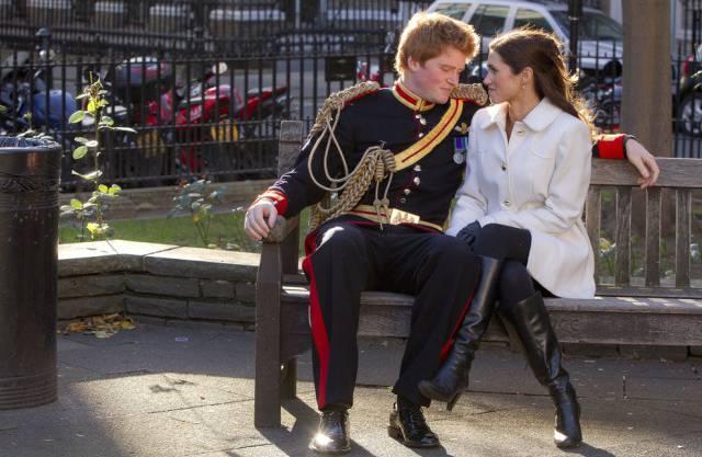 Noch eine Parodie: Prinz Harry und Pippa Middleton (Archiv)