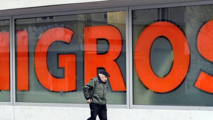 Die Migros konnte ihren Spitzenplatz bei der Reputationsumfrage des Marktforschungsinstituts GfK verteidigen. (Symbolbild)