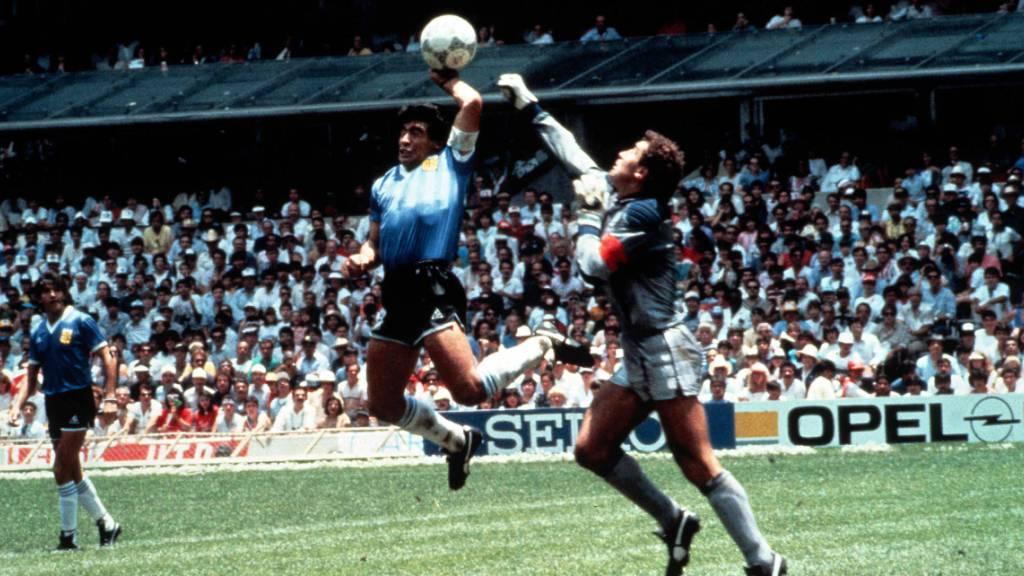 Shilton anerkennt Maradonas Grösse, beklagt mangelnden Sportsgeist