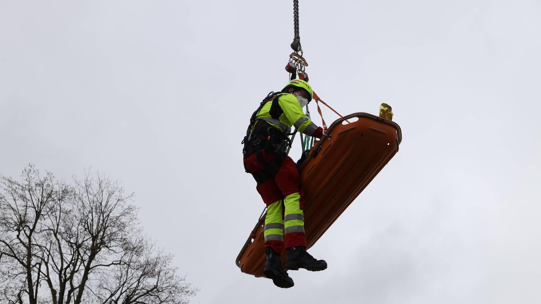 MM046_Feuerwehreinsatz nach Arbeitsunfall_Bild 1