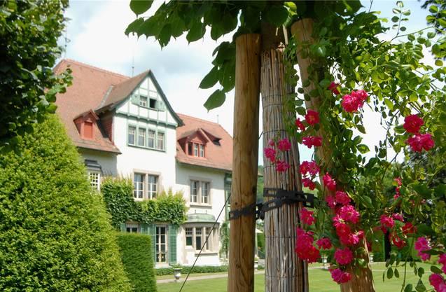 Die Villa Langmatt dient als Museum. Auch der Park rundherum ist eine Sehenswürdigkeit. Archiv/WAL
