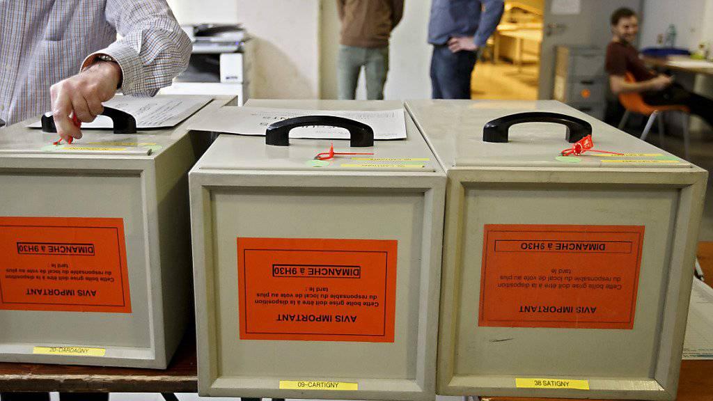 In Genf hat die Justiz eine Untersuchung wegen Verdachts auf Wahlbetrug eingeleitet. (Symbolbild)