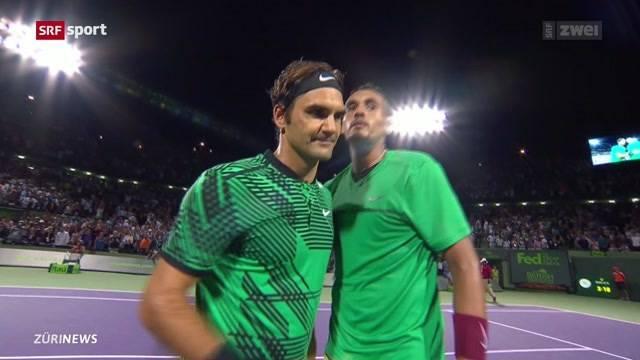 Federer vor Traum-Final in Miami