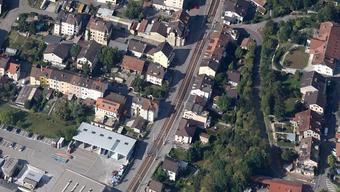 Der Ort des Geschehens: die Tramstrasse in Münchenstein.