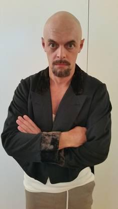 Rolf Maurer als Double eines russischen Kampfsportlers in «Papa Moll».
