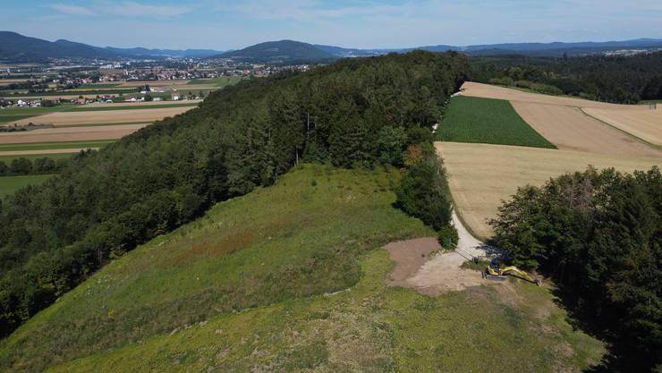 Die Spuren der Kiesgrube im Wald Buechban sind endgültig beseitigt.