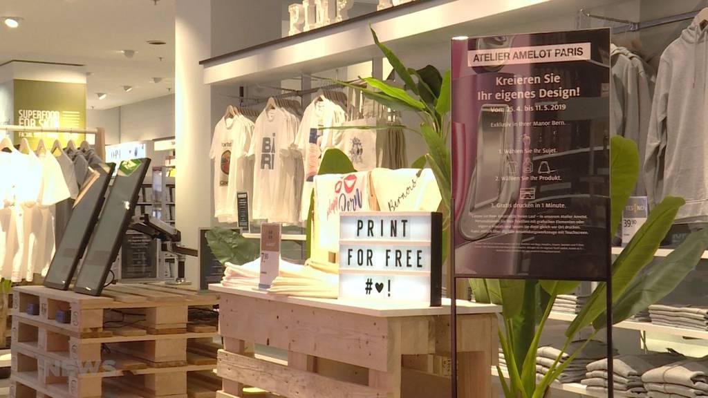Mit Manor eröffnet neues Einkaufserlebnis in der Stadt Bern