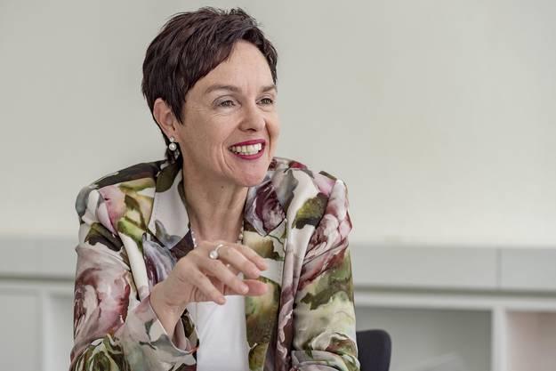 Interview mit der designierten Regierungspräsidentin Monica Gschwind (FDP)