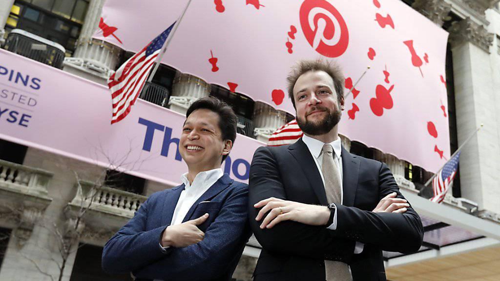 Pinterest beeindruckt Anleger mit 1.Quartal nach Börsengang