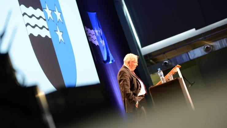 Christoph Blocher sprach über Aargauer Persönlichkeiten