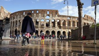 In Italien wird mit einem geringeren Wirtschaftswachstum für das kommende Jahr gerechnet, als bisher angenommen worden war. (Symbolbild)