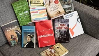 Diese Werke der hier vorgestellten Autorinnen und Autoren kamen in den vergangenen Monaten auf den Markt.
