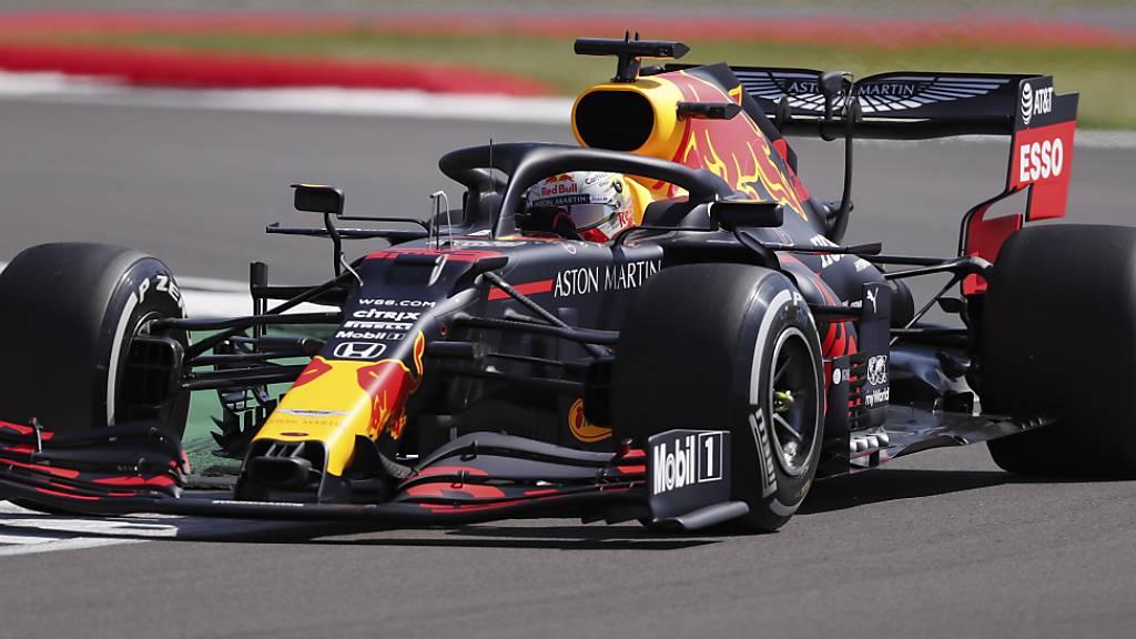 Der Sieger des Jubiläums-GP der Formel 1 in Silverstone heisst Max Verstappen im Red Bull