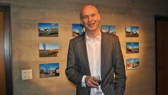 «Auf Postkarten herrscht immer strahlend schönes Wetter», so Künstler Andreas Hofer.