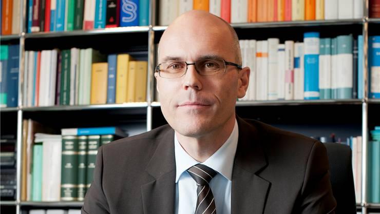 Der AKB-Präsident Dieter Egloff steht hundertprozent hinter Koradi.