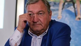 Erich von Däniken 2006 kurz vor Schliessung seines Mystery Parks
