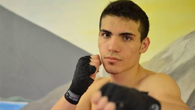 Der Zuchwiler Kickboxer Valon Thaqi kämpft um einen Schweizermeistertitel.