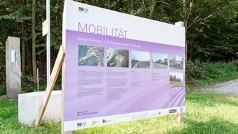 Seit Mitte April 2019 laufen die Bauarbeiten für das Grossprojekt Südwestumfahrung Brugg.