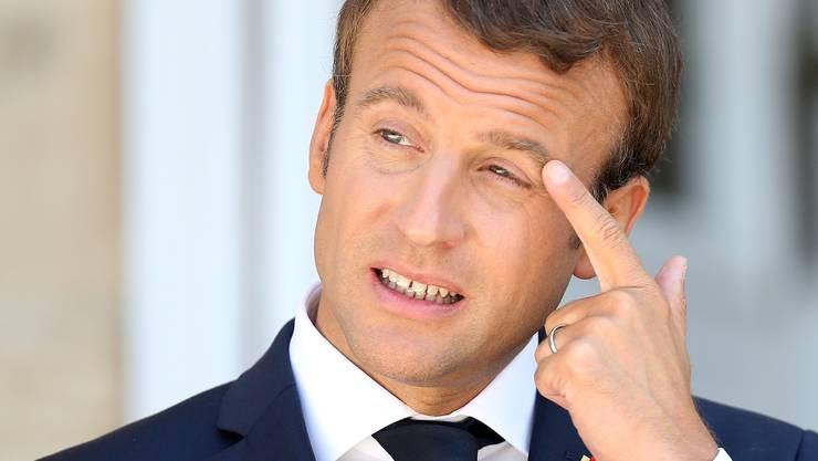 Frankreichs Präsident Emmanuel Macron reformiert den Arbeitsmarkt – und muss sich auf Widerstand einstellen.
