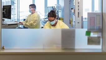Derzeit werden in den Spitälern des Kantons vier Personen behandelt, die am Coronavirus erkrankt sind.