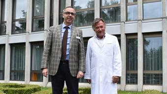 Matthias Mühlheim und Thierry Ettlin blicken zuversichtlich in die Zukunft.