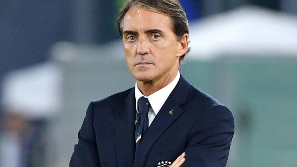 Der italienische Nationaltrainer Roberto Mancini ist skeptisch gegenüber einer Wiederaufnahme der Serie A